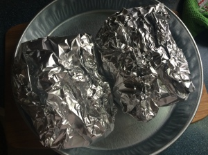 Polynesian Chicken Foil Packs